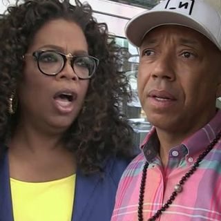 Oprah Backs Away From Russell Simmons Hit Piece Amid Being Called Out By 50 Cent & The Game.🤔🔥