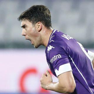Dusan Vlahovic Mvp under 23 in Serie A 2020/2021