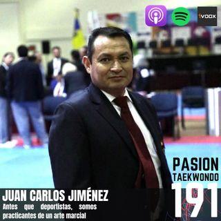 Juan Carlos Jiménez: Antes de deportistas somos artistas marciales