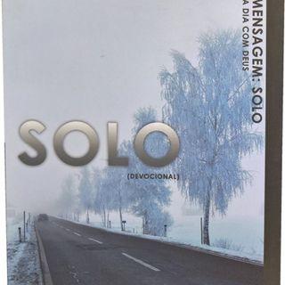 Devocional Solo: Amarras Do Coração 17/162 - Jucelia.It