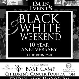Black and White Weekend 10 Year Anniversary!