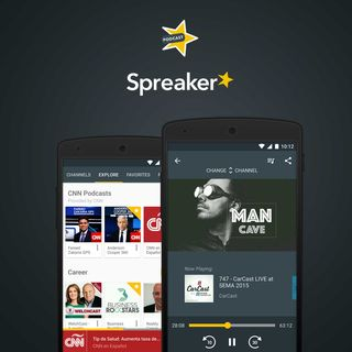 SLS53: Spreaker Podcast Radio Listening App for Android Review