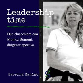 Due chiacchiere con Monica Bonomi, dirigente sportiva