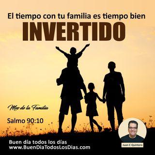 Reflexión sobre el tiempo para tu familia
