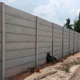 Ukuran & Spesifikasi Pagar Panel Beton Pracetak ☎ 0852 1900 8787 (MegaconConcrete.com)