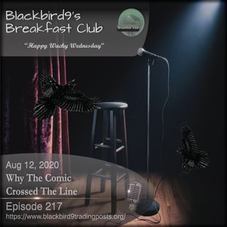 Why The Comic Crossed The Line - Blackbird9 Podcast