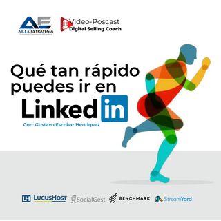 Que tan rapido puedo ir en LinkedIn | entrevista con Gustavo Escobar