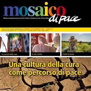 """""""Il bello in tavola"""", a cura di Rosa Vaglio, Mosaico di pace, dicembre 2020"""