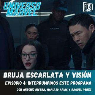 Bruja Escarlata y Visión - Episodio 4 - Interrumpimos este Programa