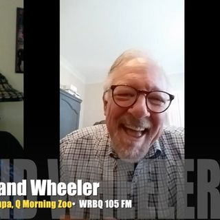 Cleveland Wheeler looks backwards to Q105 radio days! INTERVIEW