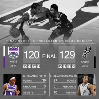 CK Podcast 451: Kings lose to the Spurs! Disappointing Loss...