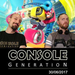 Arms, Valkyria Revolution e altro - CG Live 30/06/2017