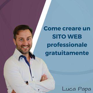 Come creare un SITO WEB professionale gratuitamente