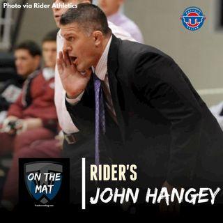 Rider head wrestling coach John Hangey - OTM599