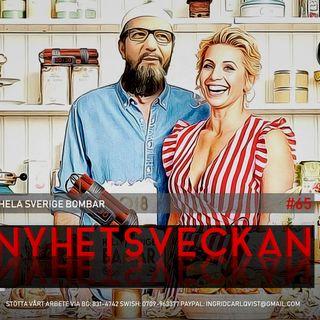 Nyhetsveckan #65 – Hela Sverige bombar, försvunnen terrorimam, korrupta medier