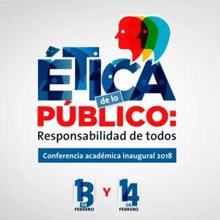 Así se vivió la conferencia inaugural: la Ética de lo público