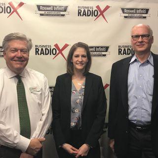 Rob Kaercher, Smith & Howard Wealth Management, and Belinda Landers Jackson, Southwestern Consulting
