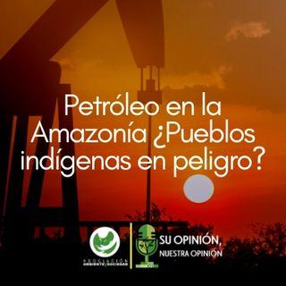 Petróleo en la Amazonía ¿Pueblos indígenas en peligro?