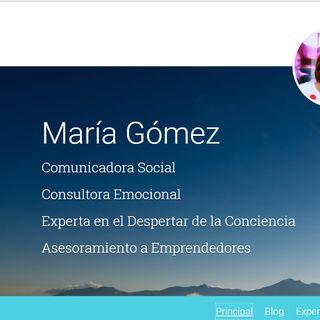 presentación de mi web maria gomez
