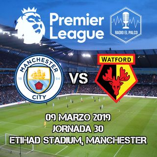 Manchester City vs Watford en VIVO