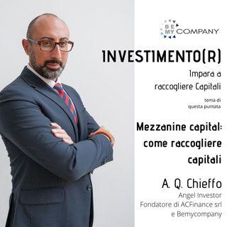 INVESTIMENTO(R) : Mezzanine capital