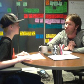 Chase Interviews Jesse Elliott at The Music District