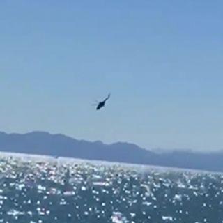 Se desploma helicóptero de la Armada de México