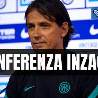 Lazio-Inter, la conferenza di Inzaghi in un minuto
