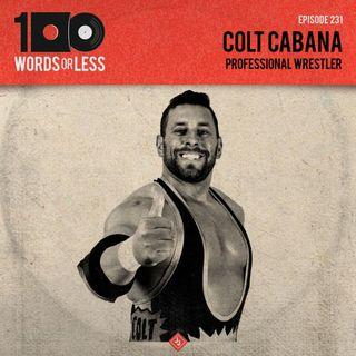 Colt Cabana, professional wrestler