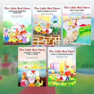 The Little Red Farm Series