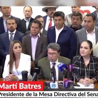 Martí Batres y Ricardo Monreal; violencia contra mujeres; crecimiento económico y más…