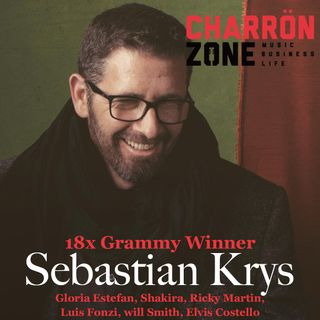 18x Grammy winner Sebastian Krys: Gloria Estefan, Shakira, Ricky Martin, Luis Fonzi, Will Smith, Elvis Costello