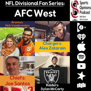 SOP Special NFL Divisional Fan Series: AFC West