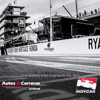 #IndyCrescendo #Indy500 la previa y bandera verda