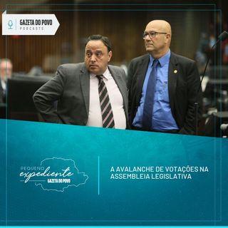 Pequeno Expediente #101: A avalanche de votações na Assembleia