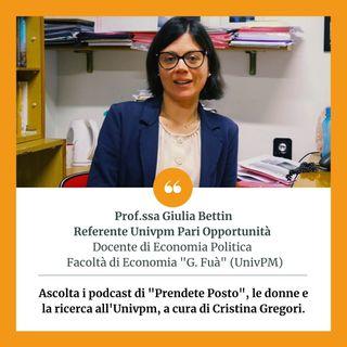 Giulia Bettin - Donne e mercato del lavoro: l'impatto del COVID