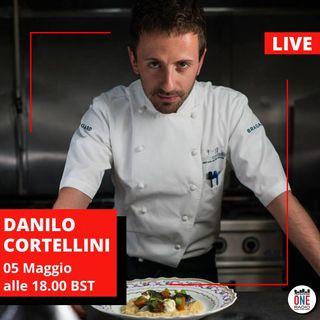 """Chef Danilo Cortellini: """"Con Foodcycle cucino Italian Take-aways per i bisognosi durante il Covid-19"""""""