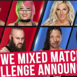 Mixed Match Challenge and Paige Out