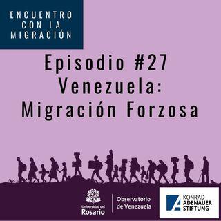 Venezuela, migración forzosa