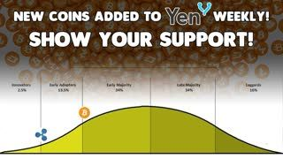 20 NEW COINS Loaded into #YENIQ! - Show them the Love! - How About That Crypto Adoption