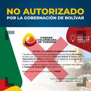Gobernación de Bolívar advierte sobre convocatorias irregulares. Solicita a la ciudadanía informarse en canales oficiales