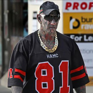 Hells Angels Dayne Brajkovich pimped out for court date