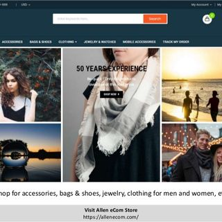 Allen eCom - Accessories, Bags & Shoes, Jewelry, Clothing Store
