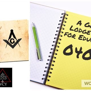 Whence Came You? - 0408 - A Grand Lodge Plan for Education