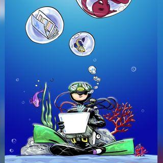 Un fumettista tra le bolle