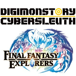 4x05 Digimon Story Cyber Sleuth y Final Fantasy Explorers