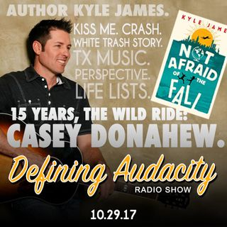 Episode 113: Casey Donahew & Author Kyle James