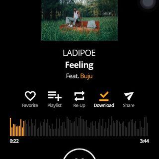 Listen To Feeling By Ladipoe Featuring Buju.