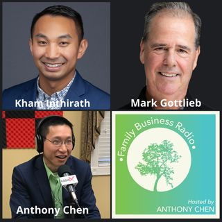 Kham Inthirath, inThink Agency and Mark Gottlieb, Office Evolution Roswell (Family Business Radio, Episode 16)