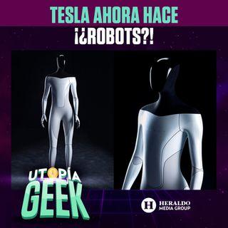 Conoce el Tesla Bot, el primer robot HUMANOIDE | Utopía Geek: Videojuegos y cómics